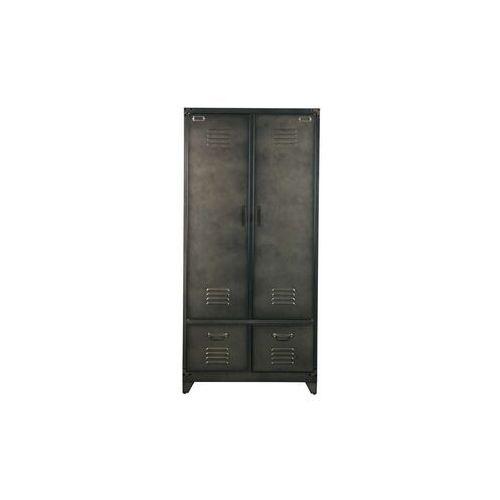 szafa metalowa czarna - woood 390907-zw marki Woood