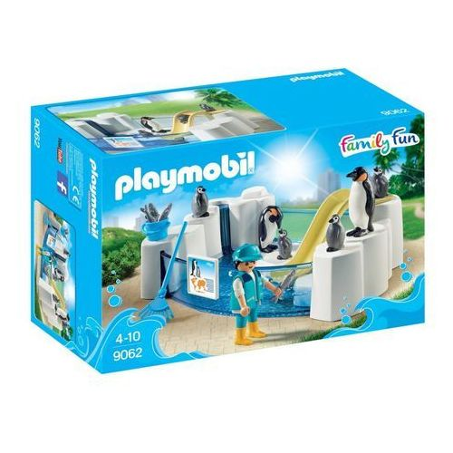 Playmobil FAMILY FUN Basen z pingwinami 9062