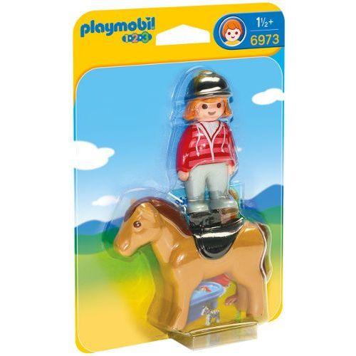 Playmobil Jeździec z koniem 6973 (4008789069733)