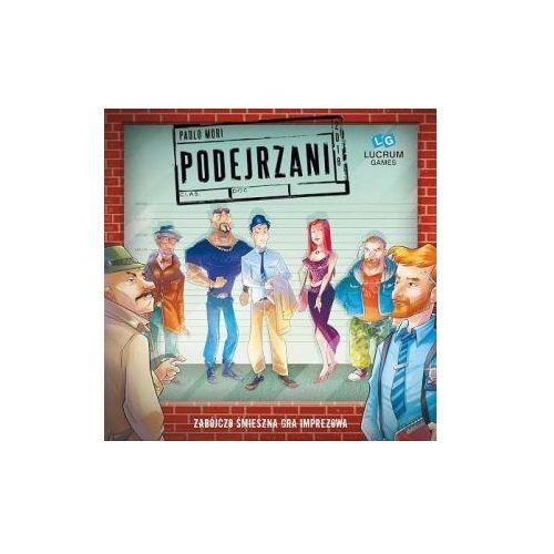 OKAZJA - Podejrzani. gra planszowa marki Lucrum games