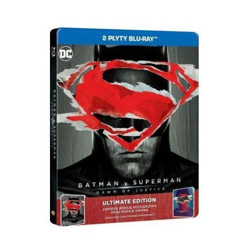 Zack snyder Batman vs superman: świt sprawiedliwości (2bd) ultimate edition steelbook (płyta bluray)