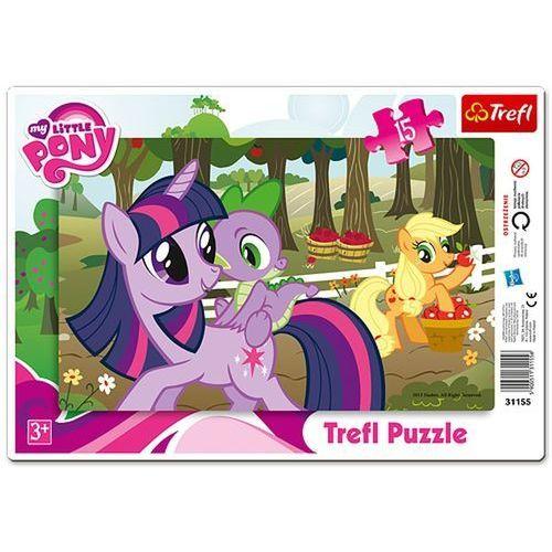 Puzzle ramkowe 15 my little pony  marki Trefl