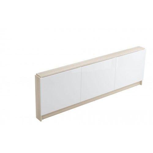 obudowa meblowa - panel czołowy wanny smart 170 - jasny jesion/biały s568-026 marki Cersanit