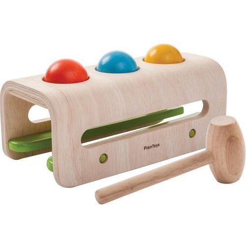 Plan Toys warsztat z młotkiem i kulkami (8854740053480)