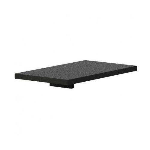 Półka do szafy dostawnej i biurka, czarna