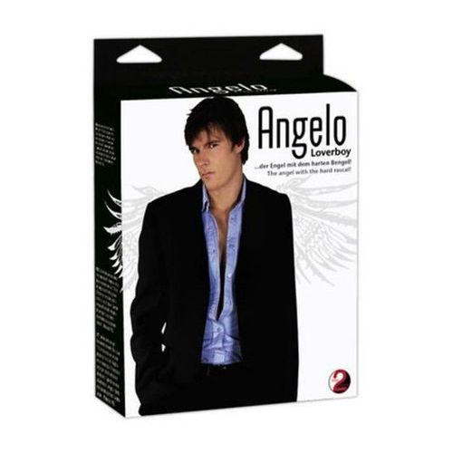 Angelo Loverboy Masculine Love Doll White Dmuchana męska lalka miłości