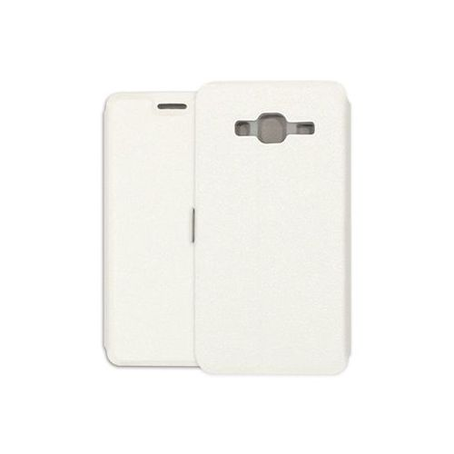 Samsung Galaxy J3 (2016) - etui na telefon Wallet Book - biały, ETSM323WLBKWHT000