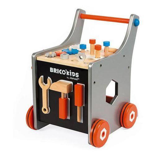 Warsztat, wózek magnetyczny z narzędziami Janod - srebrny J06478, J06478