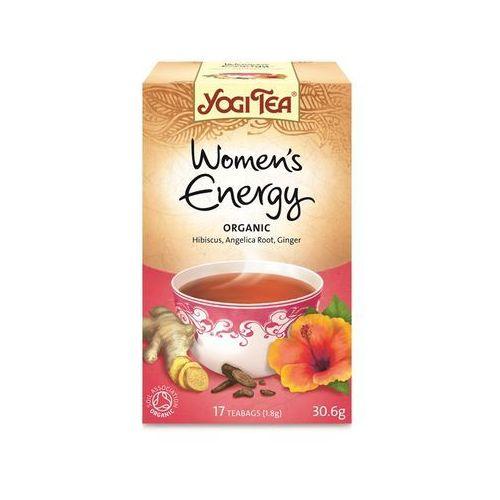 Herbata dla kobiet energia bio (yogi tea) 17 saszetek po 1,8g marki Yogi tea, usa