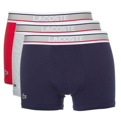 boxers 3 piece niebieski czerwony szary xl marki Lacoste