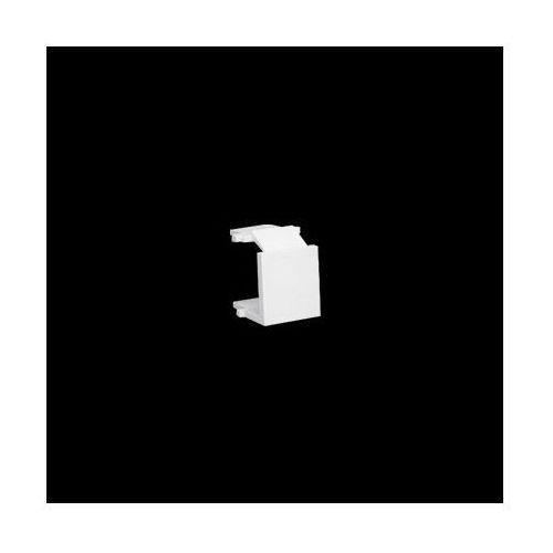 Kontakt-simon Zaślepka otworu wtyku rj45/rj12 do pokrywy gniazda teleinformatycznego; biały