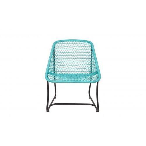 Woood Krzesło VIGO LOUNGE turkusowy 341209-T