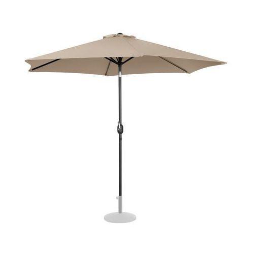 parasol ogrodowy - Ø300 cm - kremowy uni_umbrella_tr300cr - 3 lata gwarancji marki Uniprodo