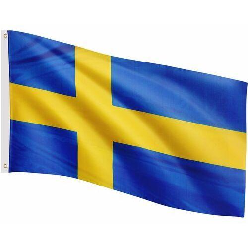 Flaga szwecji szwedzka 120x80 cm na maszt szwecja - szwecji marki Flagmaster ®