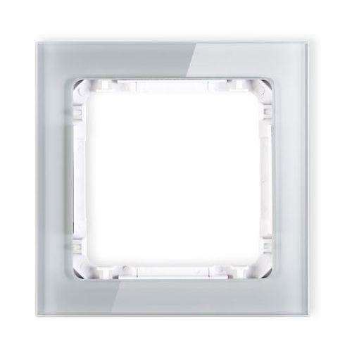Karlik Deco ramka uniwersalna pojedyncza z efektem szkła 15-0-drs-1