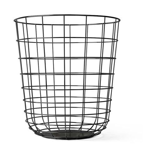 Kosz druciany Menu Wire Bin black, 9000539
