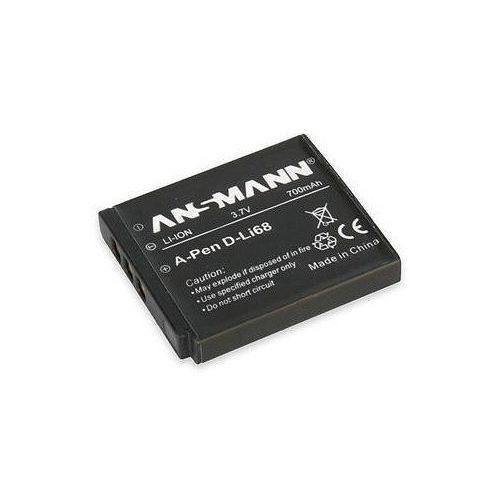 Akumulator do pentax a-pen d-li 68 (700 mah) marki Ansmann