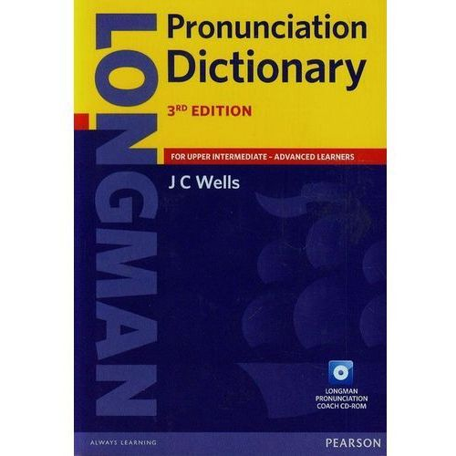 Longman Pronunciation Dictionary + CD (922 str.)
