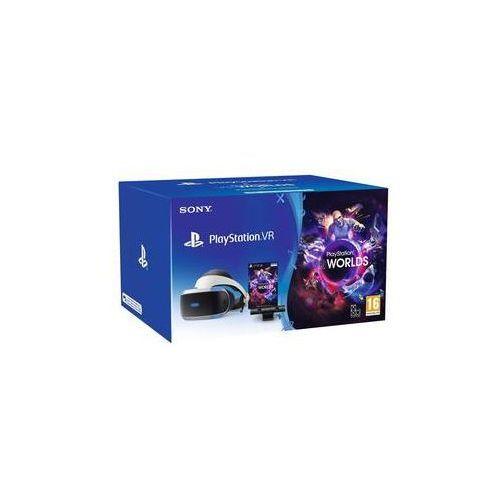 Gogle do wirtualnej rzeczywistości Sony PlayStation VR + Kamera + VR WORLDS (PSN voucher) (PS719981169)