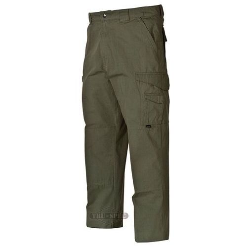 Spodnie 24-7 tactical pants cotton - 10 _ _ - olive drab marki Tru-spec