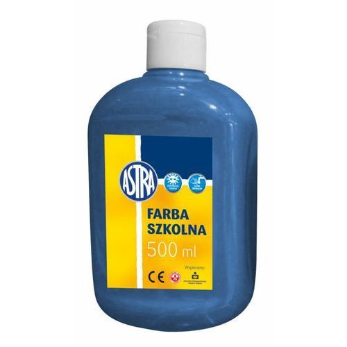Farba plakatowa niebieska 500ml 834-900 marki Astra