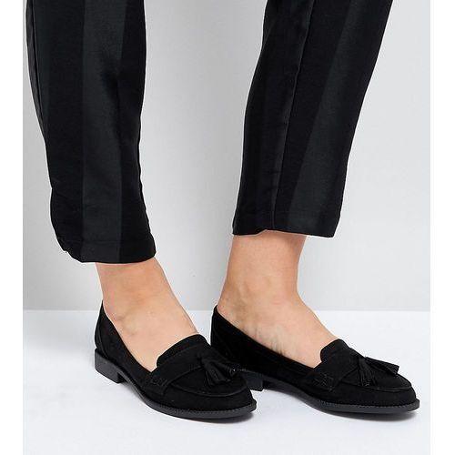 wide fit loafer flat shoes - black, Park lane