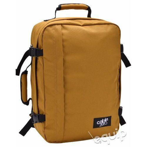 Plecak torba podręczna CabinZero 36l + pokrowiec organizer gratis - orange chill, kolor pomarańczowy