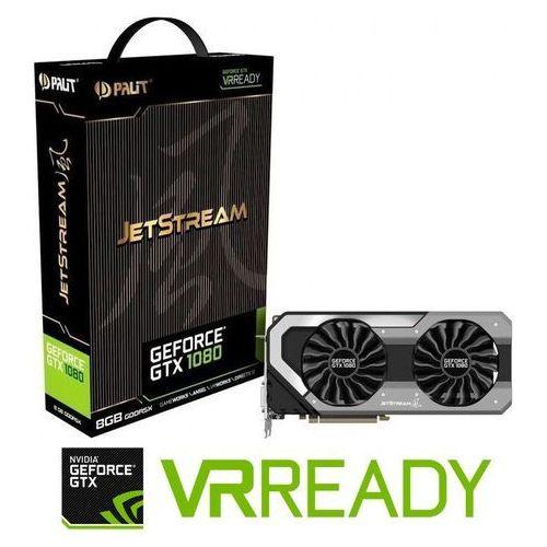 Palit GTX1080 JetStream 8GB DDR5 256 BIT DARMOWA DOSTAWA DO 400 SALONÓW !!, NEB1080015P2J
