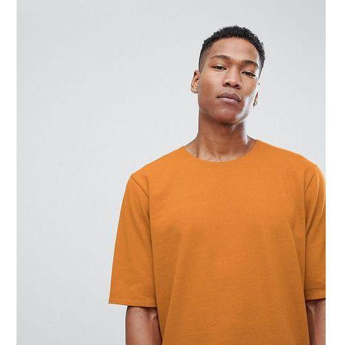 oversized t-shirt in premium textured jersey - tan marki Noak