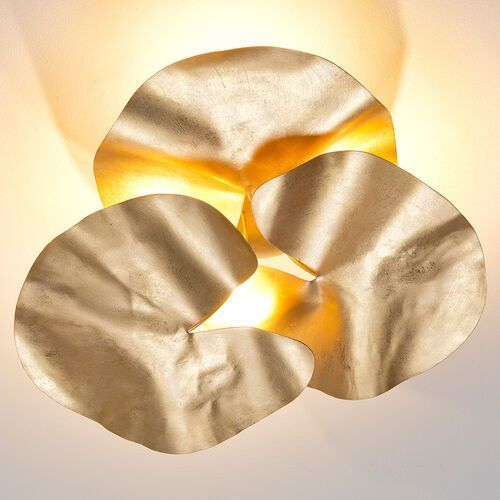 Holländer controversia lampa sufitowa led złoty, 4-punktowe - design - obszar wewnętrzny - controversia - czas dostawy: od 2-3 tygodni (4250151341835)