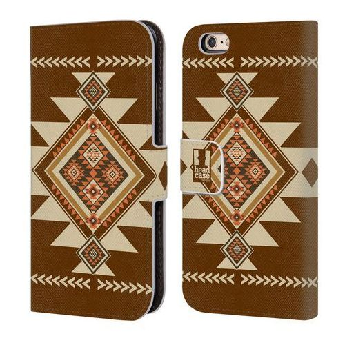 Etui portfel na telefon - NEO NAVAJO BROWN, kolor brązowy