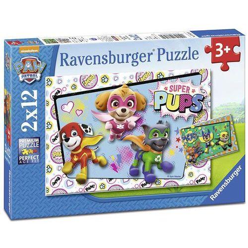 Ravensburger Puzzle 2x12 el Psi Patrol 076130 - 4005556076130- natychmiastowa wysyłka, ponad 4000 punktów odbioru!, 23952