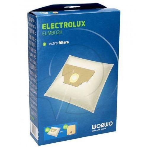 EL02 Worki Perfect Bag (4szt.) + filtr wlotowy / wylotowy (2szt.) do odkurzacza Electrolux