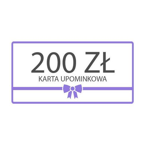 Karta upominkowa 200zł z kategorii Upominki