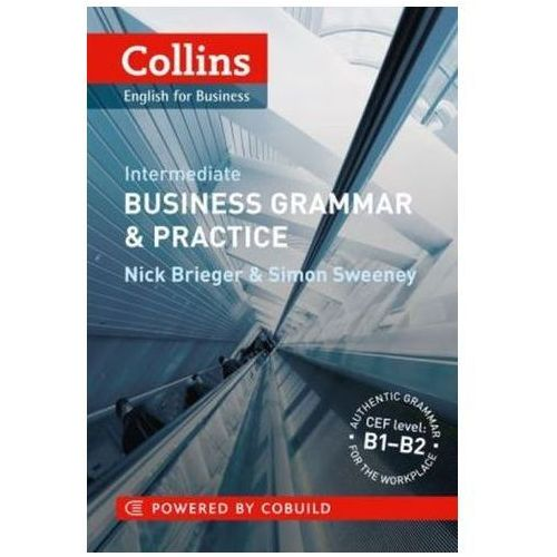 Collins Business Grammar & Practice Intermediate (208 str.) - OKAZJE