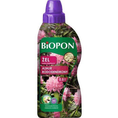 BIOPON ŻEL nawóz mineralny do rododendronów, azalii i różaneczników 500 ml (5904517106185)