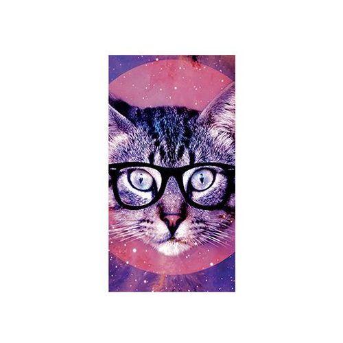 Etui na telefon - Kolekcja etui z kotem - Kot z okularami, OKAZCAT004