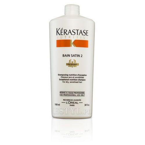 Kerastase  bain satin 2 - kąpiel odżywcza do włosów suchych, uwrażliwionych 1000 ml