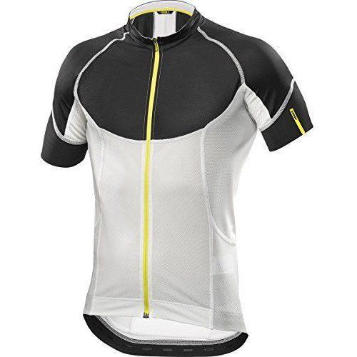 Męska koszulka ksyrium pro jersey black/cane rozmiar m marki Mavic