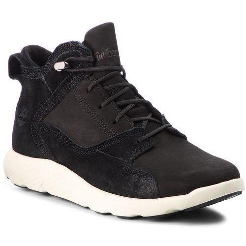 Trzewiki - flyroam leather hike a1sbn black marki Timberland