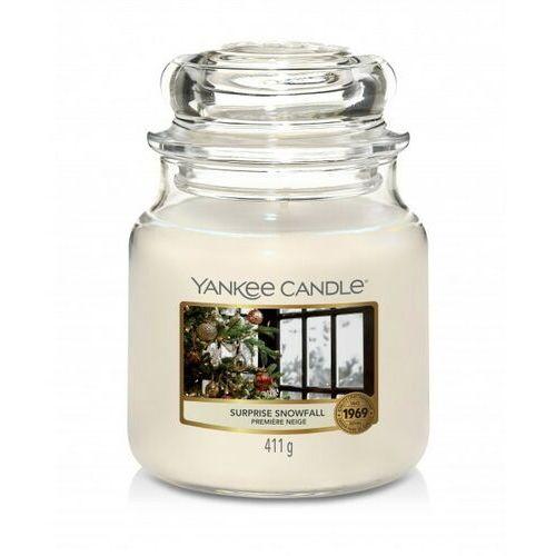 Yankee candle świeca surprise snowfall 411g