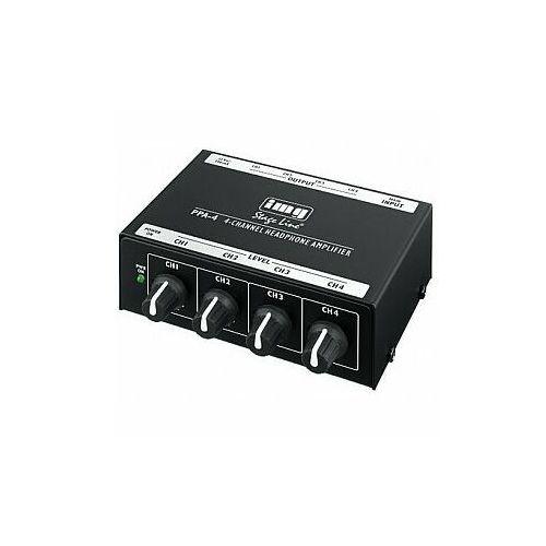 Monacor Img stageline ppa-4 wzmacniacz słuchawkowy stereo (4007754180084)