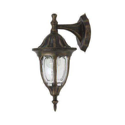 Kinkiet zewnętrzny lampa ścienna Rabalux Milano 1x60W E27 IP43 antyczne złoto 8371 (5998250383712)