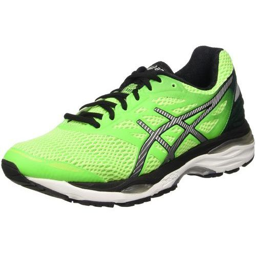 ASICS GELCUMULUS 18 Obuwie do biegania treningowe green gecko/silver/safety yellow (8718833707356)