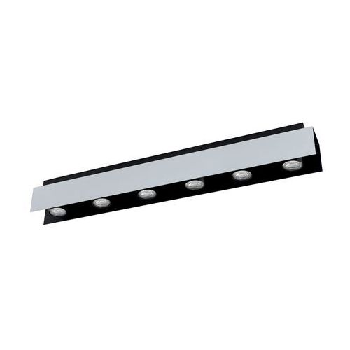 Eglo 97964 - LED Oświetlenie punktowe VISERBA 6xGU10/5W/230V (9002759979645)