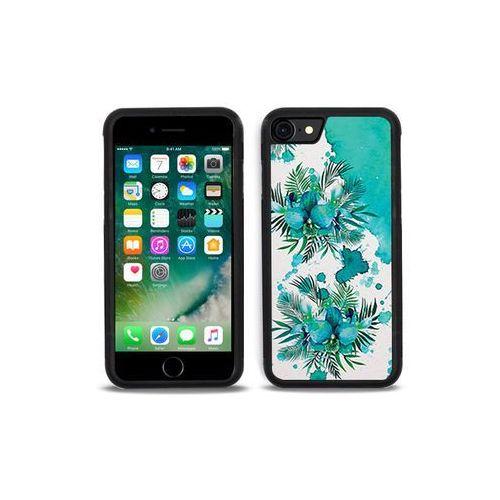 Apple iPhone 7 - etui na telefon Aluminum Fantastic - turkusowa orchidea, ETAP403HBFNFC005000