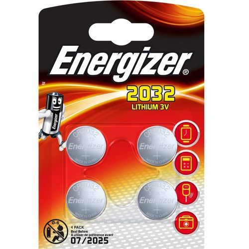 Energizer Bateria CR2032 /4 szt. blister