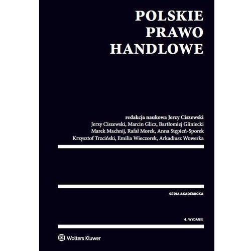 Polskie prawo handlowe - Wysyłka od 3,99 - porównuj ceny z wysyłką (9788326492860)