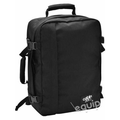 Cabinzero Plecak torba podręczna 36l + pokrowiec organizer gratis - absolute black