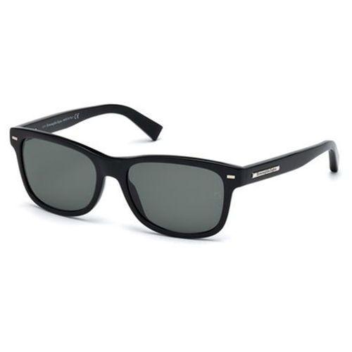 Okulary Słoneczne Ermenegildo Zegna EZ0001 With Clip-On 01N